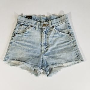 Vintage Lee Patched Cutoff Shorts